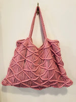 Structure Macrame Tote Bag