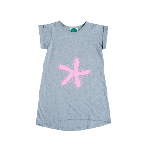 Kids Starfish tee dress