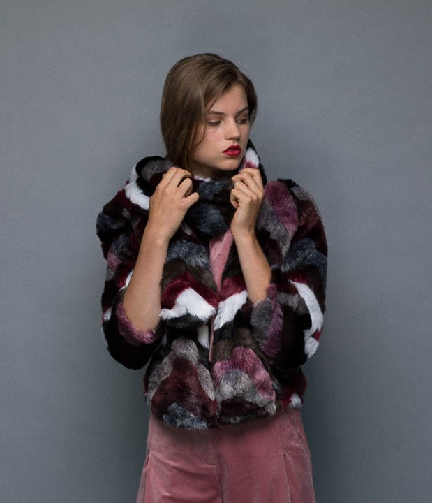 Time After time Faux fur jacket