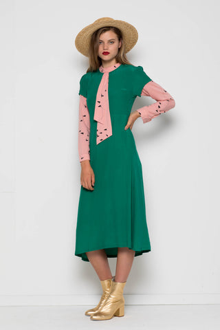 Janis Dress, Green