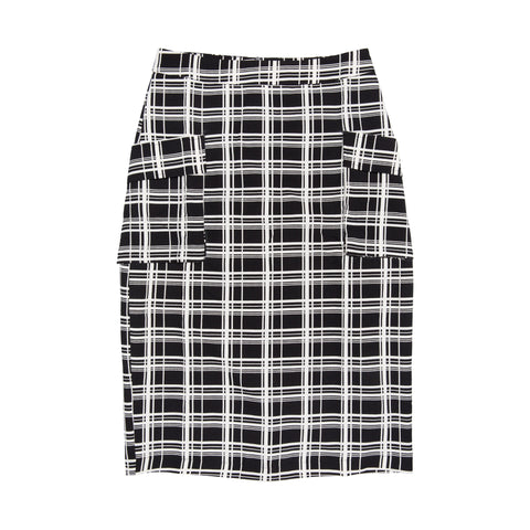Montsalvat Check Skirt