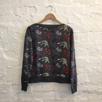 Pangolin Boat Neck Jumper