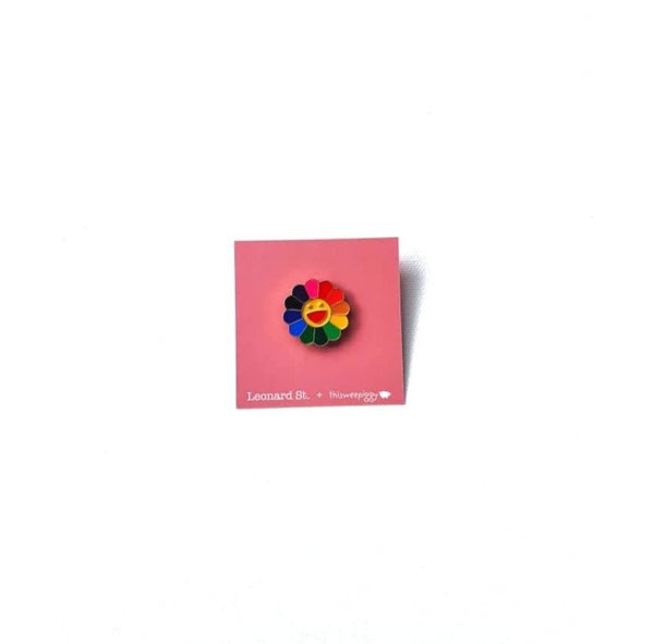 Enamel Colour Me Happy Pin