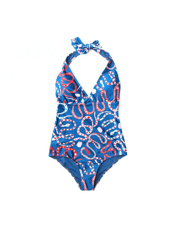 Snake One Piece Swimwear