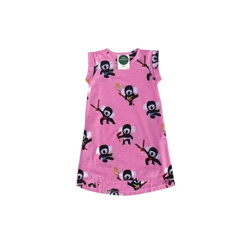 Little Leonard St Dress - Pink Koala
