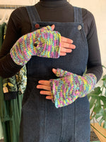 Button Mittens