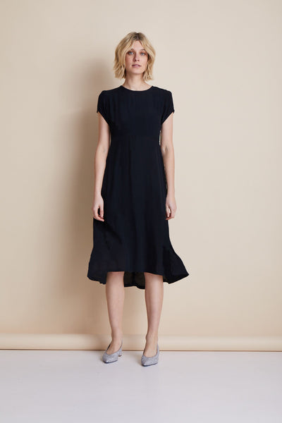 Janis Summer Dress, Black