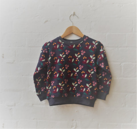 Kids Cherry Plum Jumper