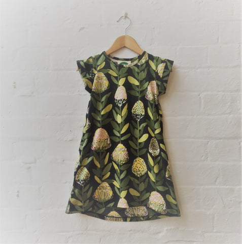 Kids Protea Tee Dress