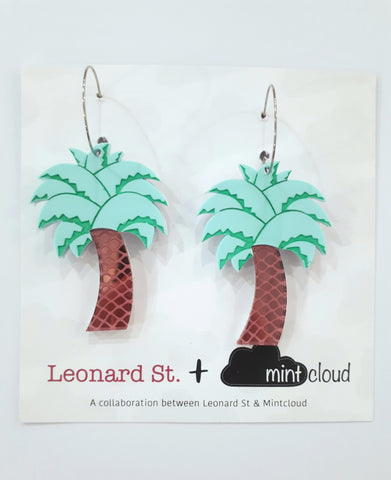 Palm Dangle Earrings