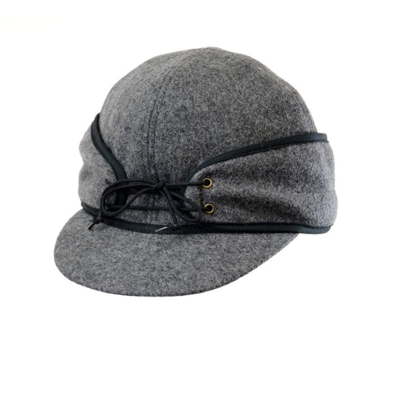 Charcoal Railroad Hat