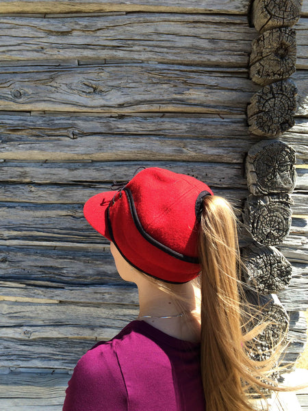 Red Railroad Hat (P)