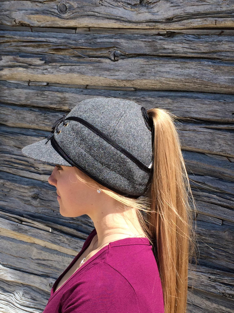 Charcoal Railroad Hat (P)