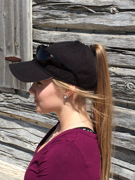 Black Sunglass Cap Embroidered