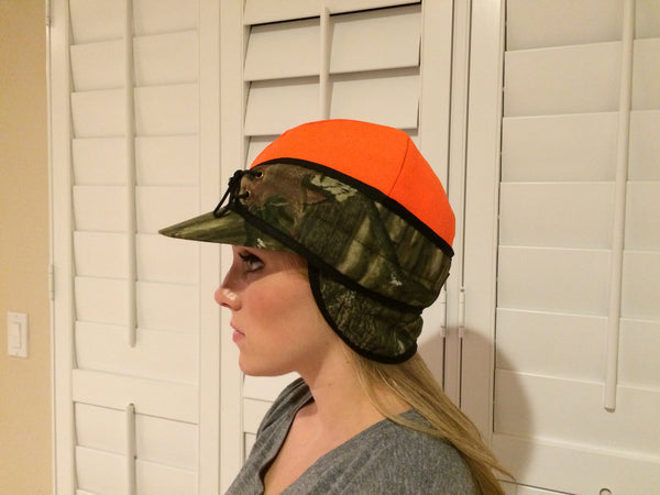 Mossy Oak Convertible Railroad Hat