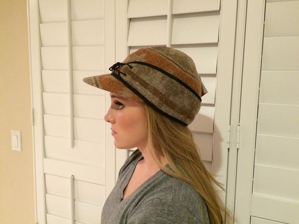 Orange Navajo Railroad Hat (Available in XS)