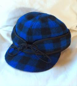 Black/Blue Buffalo Railroad Hat