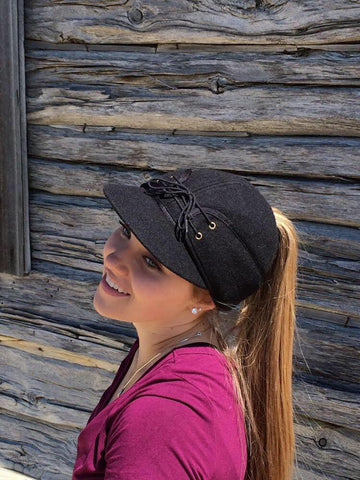 Black Railroad Hat (P)