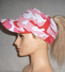 Pink Camo Military With Embroidery