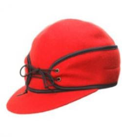 Red Railroad Hat