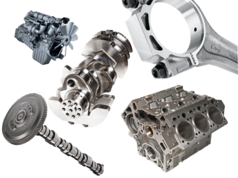 Engine components and reman