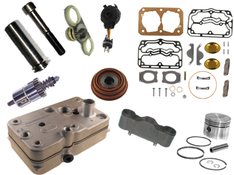 Repair kits for Compressor, caliper and pneumatic valves