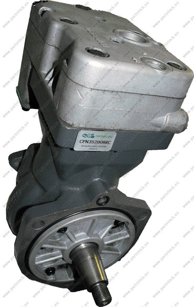 Wabco 4123520080 (412 352 008 0) Airbrake Compressor Remanufactured by Remot.eu