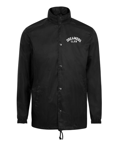 Dreamers Club - Coach Jacket, black