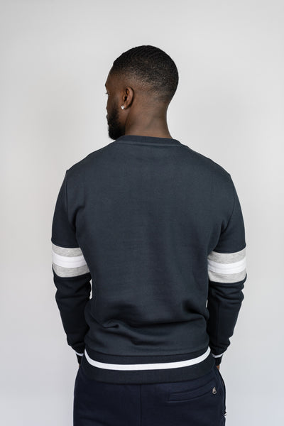 Dreamers Club Script Crewneck - Navy