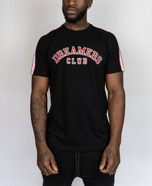 Dreamers Club Red/black t-shirt