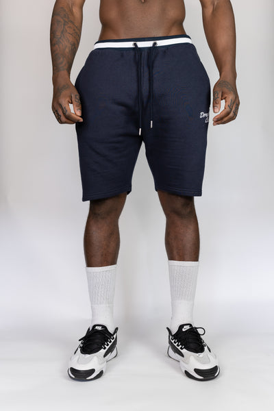 Dreamers Club Script Shorts - Navy