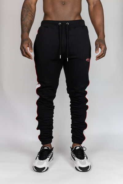 Dreamersclub Red/black joggers