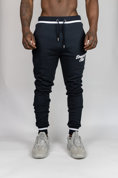 Dreamers Club Script Jogger - Navy