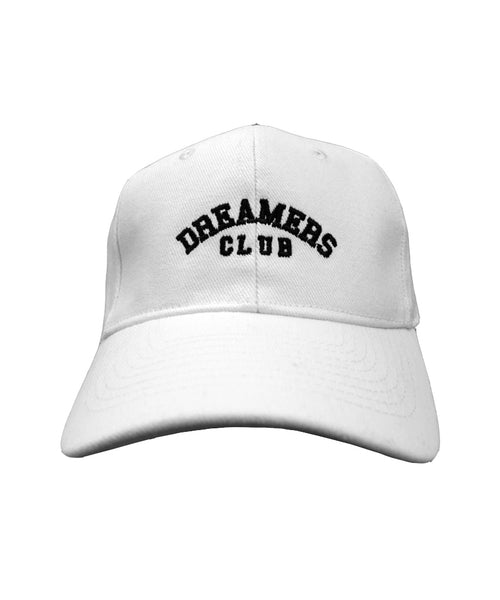 Dreamers Club - 'Members Only' cap, Ice White