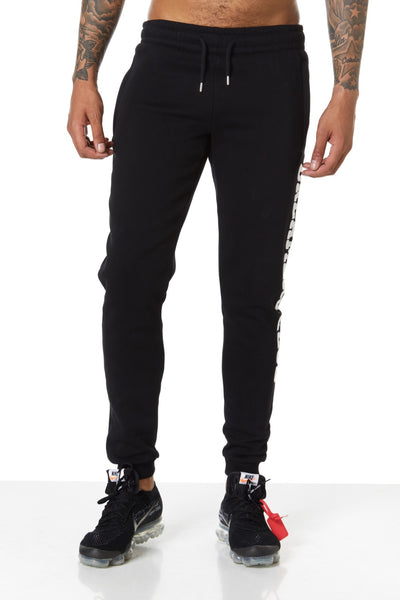 Dreamers Club Panel Joggers, Black