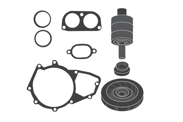 Water pump - Repair kit / Wasserpumpen - Rep.Satz