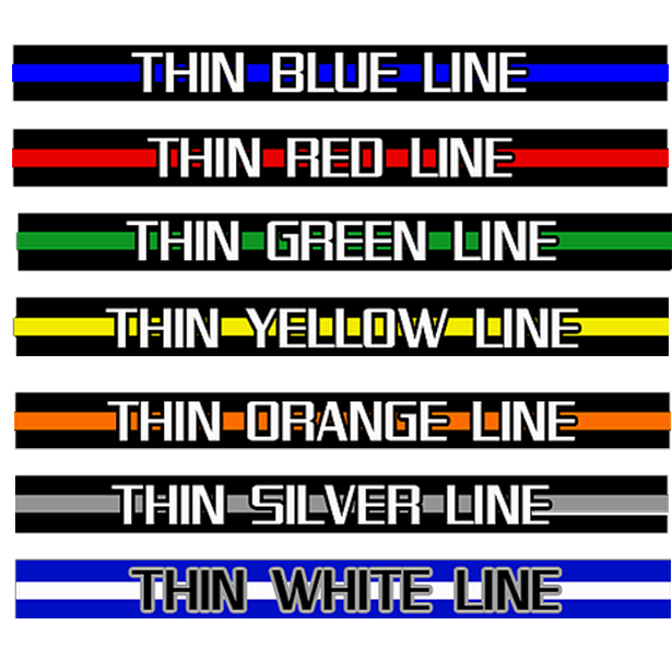 The Thin Line Meanings Thin Line Definitions Morale Patch Armory