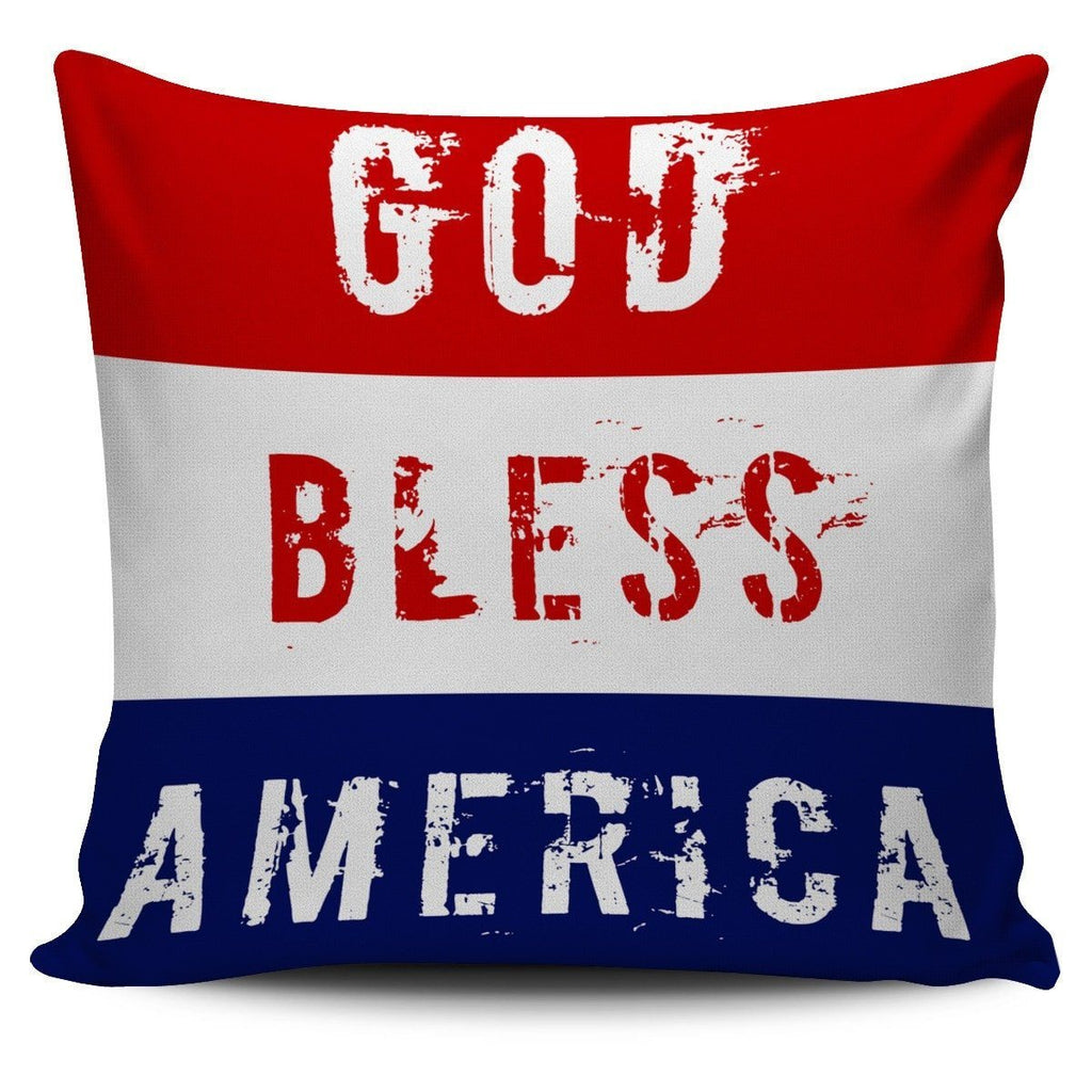 Old Glory Pillow Covers Patriot Pillow Case Morale Patch® Armory God Bless America