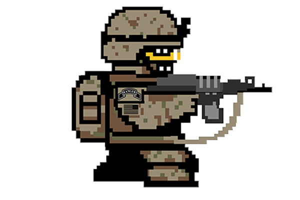 8bit Ranger Sticker/Decal Morale Patch® Armory