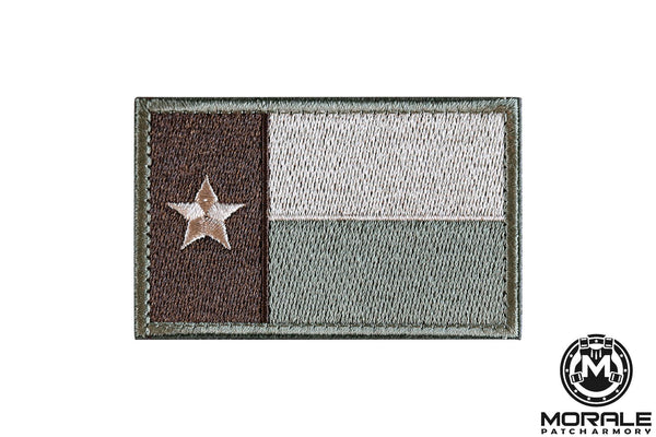 ACU Texas Flag Embroidered Patch Morale Patch® Armory