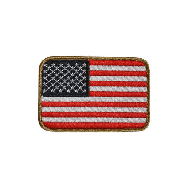 American Flag Embroidered Patch Morale Patch® Armory Red White &Blue