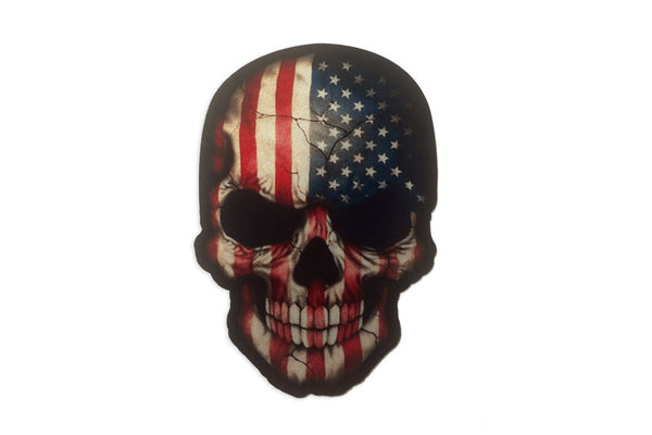 American Skull Sticker/Decal Morale Patch® Armory