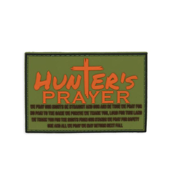 Hunter's Prayer PVC Patch Morale Patch® Armory