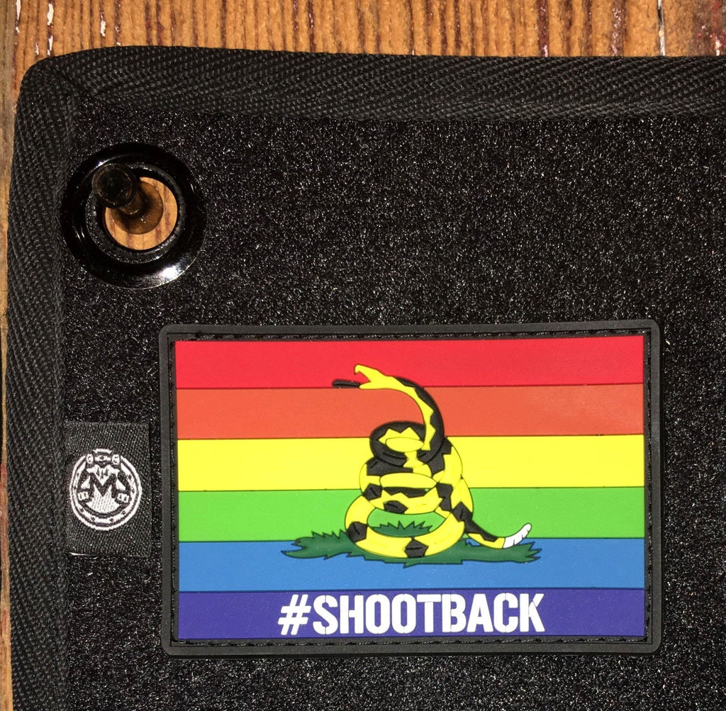 #Shootback Morale Patch - Dont Tread On Me