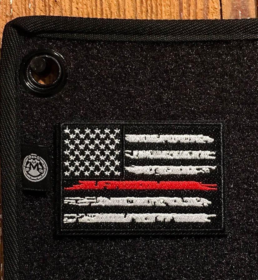 The Thin Red Line Velcro Patch