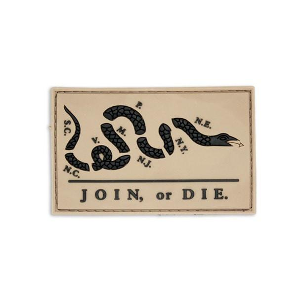 Join Or Die Flag Morale Patch
