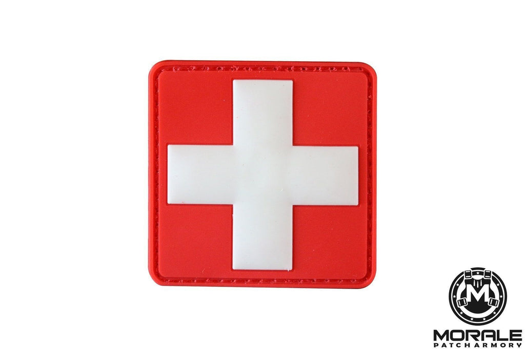 Medical First Aid Patch Red