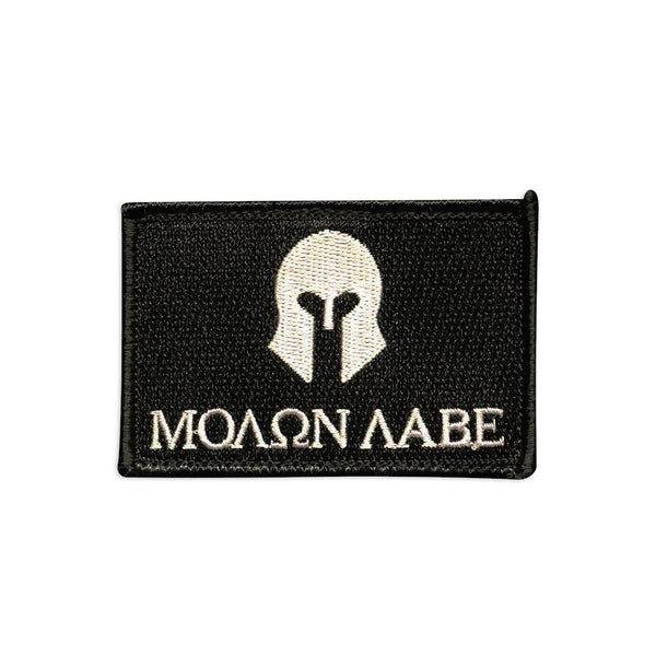 Molon Labe Spartan Embroidered Patch Morale Patch® Armory