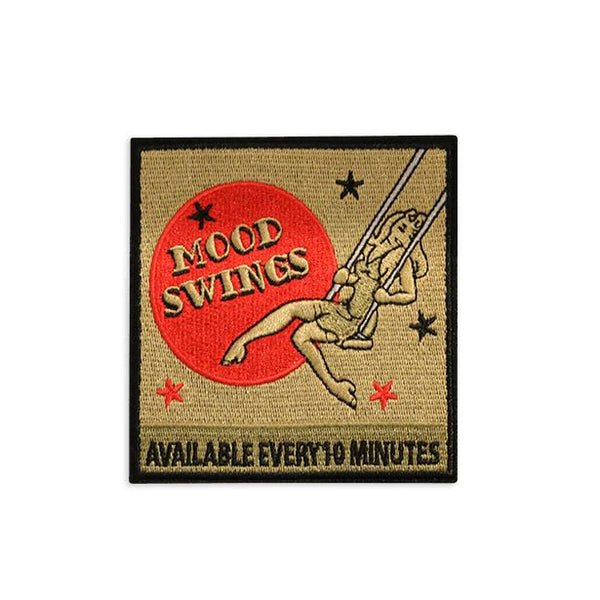 Mood Swings Embroidered Patch Morale Patch® Armory