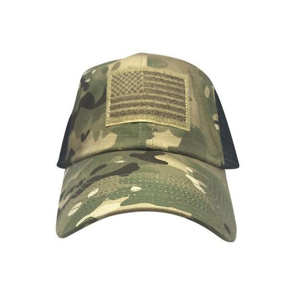 Multicam Mesh Patch Hat Tactical Cap Morale Patch® Armory